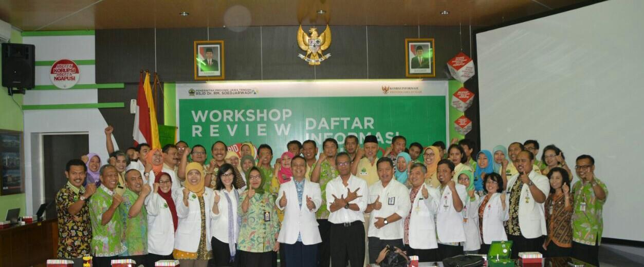 Workshop Review DIP RSJD Dr. RM. Soedjarwadi Tahun 2017